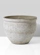 natural cement fishbowl pot