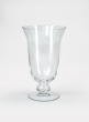 6in - 12in Vienna Clear Glass Urns