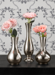 Nickel Bud Vases