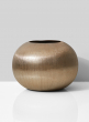 Gold Fishbowl Vase, 8 1/4in