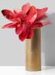 5in x 14in Gold Cylinder Vase