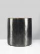 8 1/2in Nairobi Large Black Nickel Vase