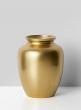 7 1/2in Gold Spring Vase