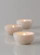 3in White Mumtaz Marble Bowl, Set of 2
