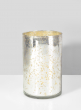 3 3/4 x 5 3/4in H Antique Silver Cylinder