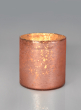 Matte Copper Glass Cylinders