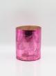 6 x 7 1/2in H Antique Pink Cylinder