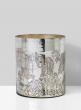 6 x 7 1/2 Antique Silver Cylinder