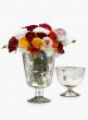 6 x 8 1/2in Antique Silver Pedestal Vase