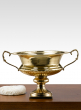 10in Brass Flower Urn