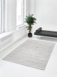moonglow rug with fake ficus tree living room