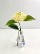Hexagon Tapered Crystal Vase