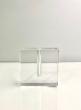 Space Modern Square Crystal Vase