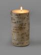 3 x 5 3/4in Birch Bark Pillar Candle