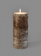 4 x 10in Bark Candle