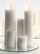 3 x 12in Ivory Pillar Candle