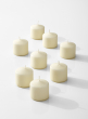 2 x 2in Ivory Pillar Candle, Set of 8