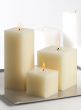 3 x 8in White Square Candle