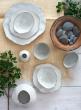 12in Freeform Edge Ceramic Potter's Platter, Set of 2
