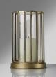 Silk Route Venetian 9 1/2in H 16-Gon Gold Lantern