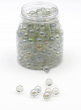 Clear Luster Glass Marbles 3lb Bag