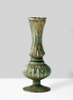 7in Verdigris Glass Bud Vase