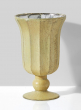 Provence Antique Ivory & Rust Glass Urn