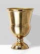 shiny gold classic urn vase