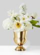 7 1/2in Gold Urn Vase
