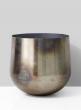 metal oil slick iron planter