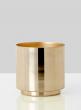 5 x 5in Gold Vase