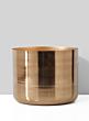 11 x 9in Gold Planter Vase