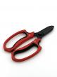 7in Red & Black Floral Scissors
