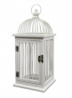 13 1/2in White Birdcage