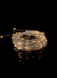100 Flashing Warm White LED Naked Wire Lights