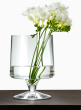 6 x 9in Clear Pedestal Vase