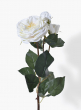24in White Rose Spray