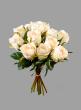 A Dozen Cream Roses Bouquet
