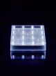 Square White LED Light Base