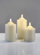 4, 5, & 6in Willow Flame L.E.D Candles