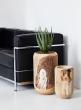 19 1/2in Paulownia Wood Pot
