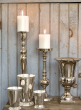 17in Nickel Candlestick