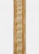Glitter Stripe Gold Dupioni Ribbon