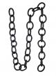 67in Black Glittered Link Garland