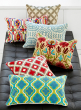 Embroidered Wool Pillows