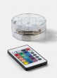 Submersible Multicolor LED Light With Remote, Set of 2