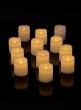 LED Votive Candles, Set of 12