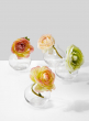 Pomegranate Bud Vase, Set of 4