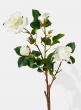 white rose spray silk flowers