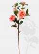 fake peach wedding roses
